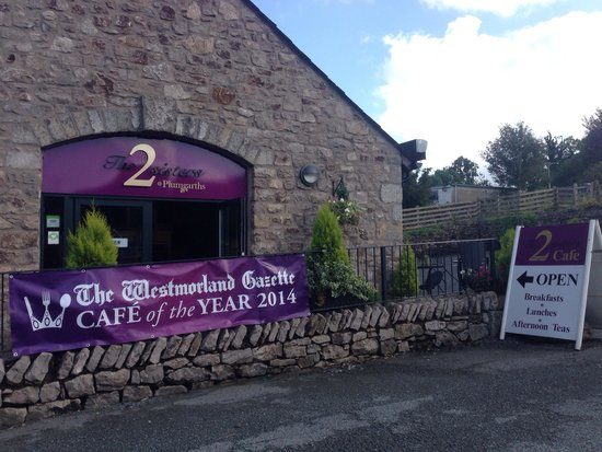 2 Sisters Cafe at Plumgarths: Cafe of the year 2014!!!!