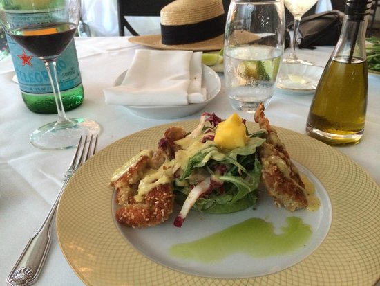 l'etoile : The best soft-shell crab ever!