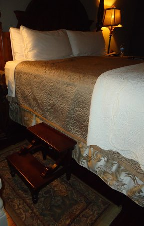 Puddicombe House : wonderfully comfortable bed
