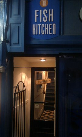 The Fish Kitchen: Don't be put off by the stairs