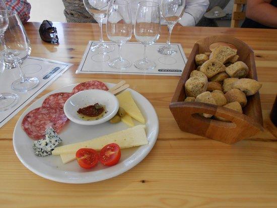 Santorini Wine Adventure : Wine Pairings