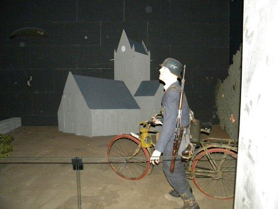 Musée Airborne : reconstitution