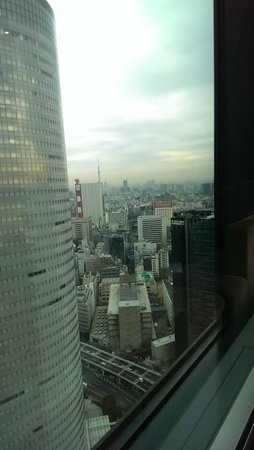 Conrad Tokyo: View from Room