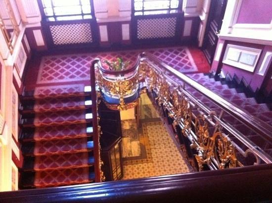 Hotel Pod Orlem: schody