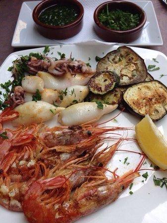Restaurante Bar La Oca : Морепродукты