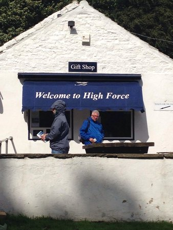 High Force Waterfall: Pay here £1.50pp