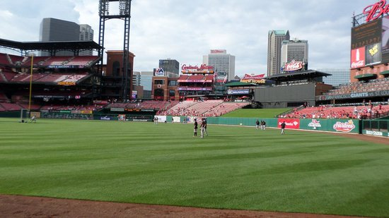 Hampton Inn - St. Louis Downtown at the Gateway Arch: Busch Stadium is the fabulously beautiful home of the St. Louis Cardinals baseball team, best in