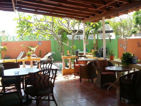 Buffam's Tropical Haven: De veranda