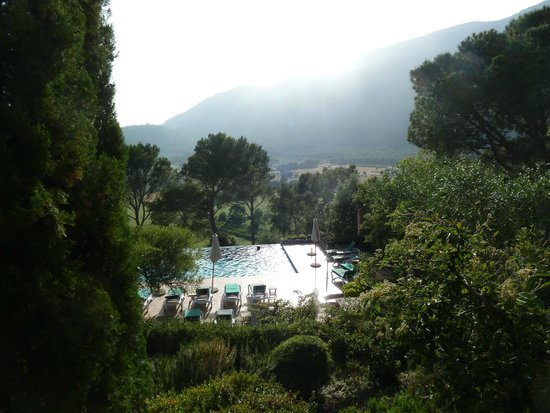 Finca Hotel Son Palou: Superb views from the pool