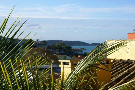Villa Garoupeta: Vista parcial do mar - Apto duplex A
