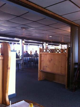 Don's Seafood Restaurant: From our seat