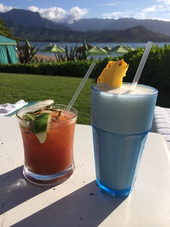 St. Regis Princeville Resort: Drinks with a view