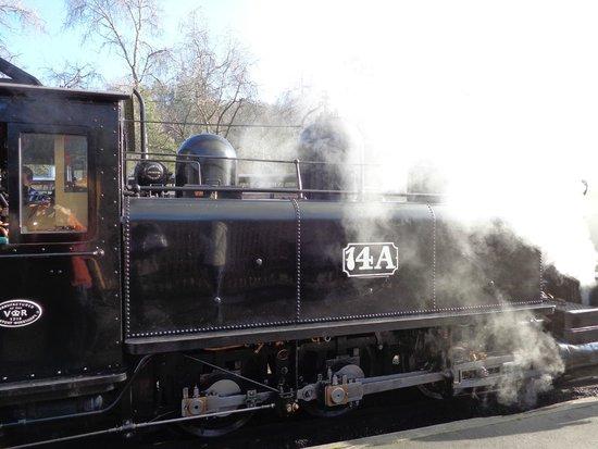 Puffing Billy Railway: Steam engine