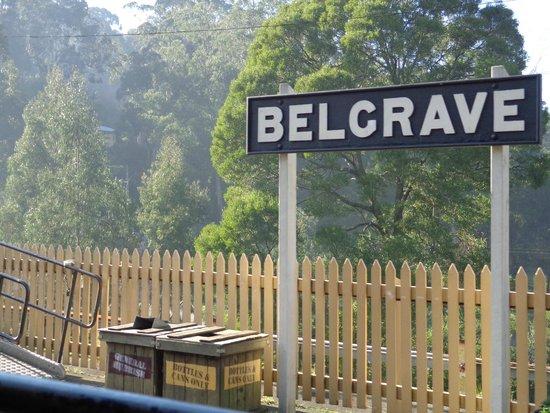 Puffing Billy Railway: Belgrade Station
