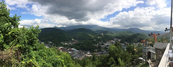 Gatlinburg Sky Lift: View from the top