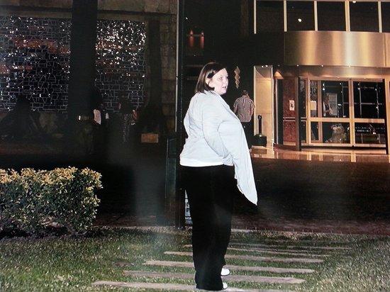Hotel Flamingo Oasis : me walking back to hotel xx