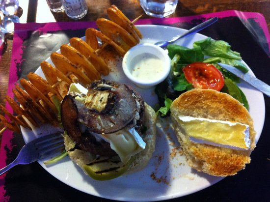 Yummy's Restaurant: Le Burger normand