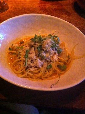 Jamie's Italian: petite dose, crabe