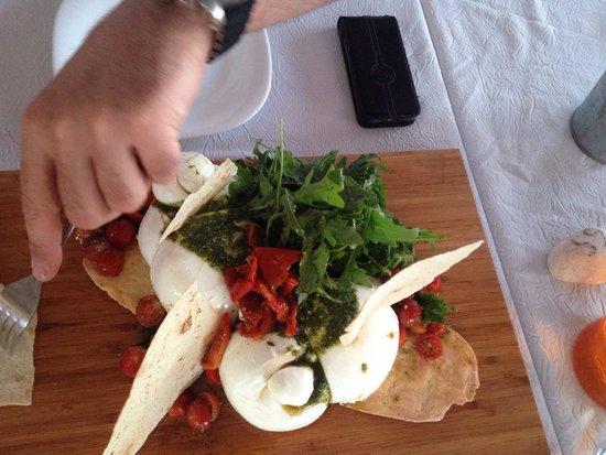 Restaurant le local: Mozzarella a partager