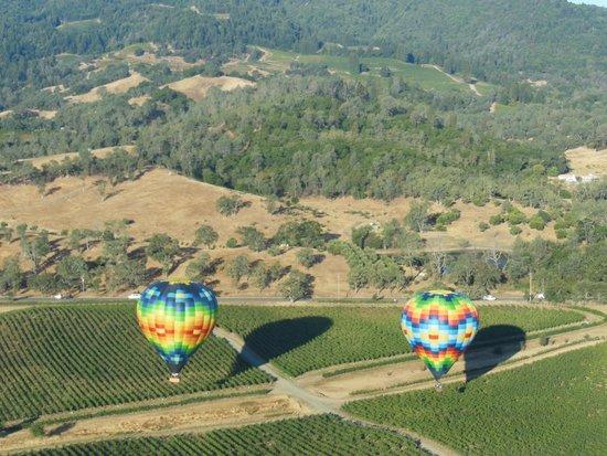 Napa Valley Aloft Balloon Rides: Pope Valley