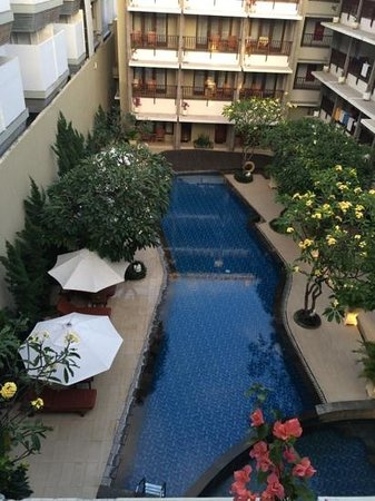 Bali Rani Hotel: view from the room