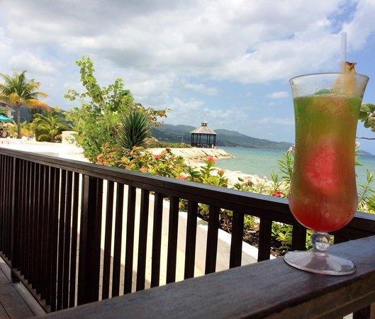 Secrets St. James Montego Bay: Bob Marley drink