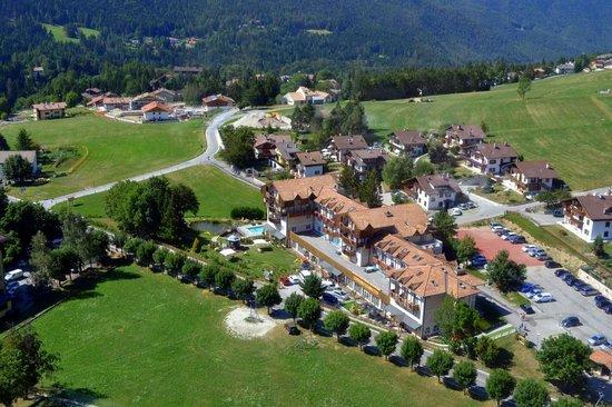 Folgaria, Italien: Panoramica Hotel
