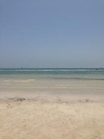 Club Med Djerba la Douce: plage et mer devant Aziza