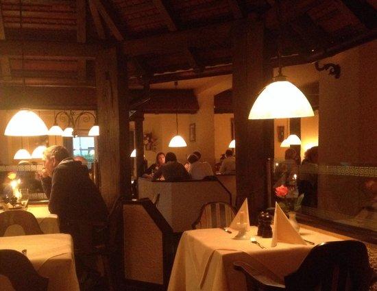 Taverne Restaurant Der Grieche: Location