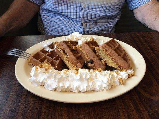 Bisbee Breakfast Club: Oatmeal Cookie Waffle