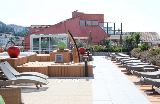 Dachterrasse photo de best western plus le patio des artistes cannes tripadvisor - Best western le patio des artistes ...
