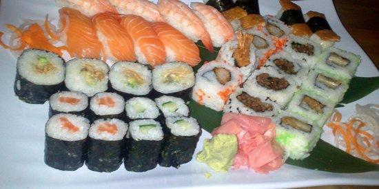 Zen Japanese & Oriental Restaurant: The buffet package