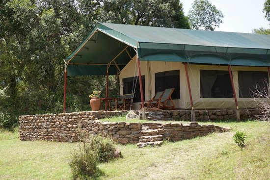 Kicheche Mara Camp: Our home