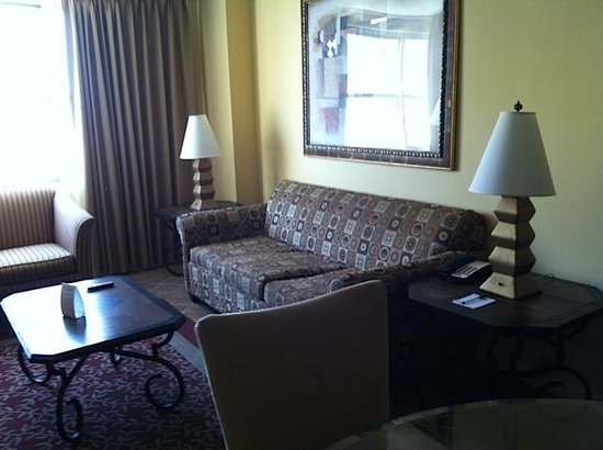 The Grandview at Las Vegas: Pull out sofa