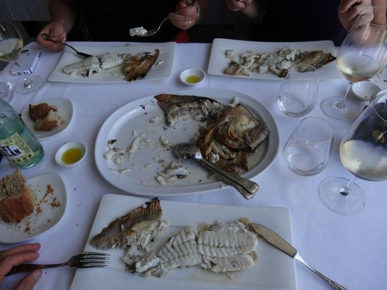 Restaurante Elkano: Turbot for the table