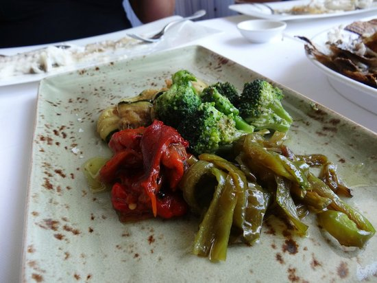 Restaurante Elkano: Wood-grilled seasonal vegetables