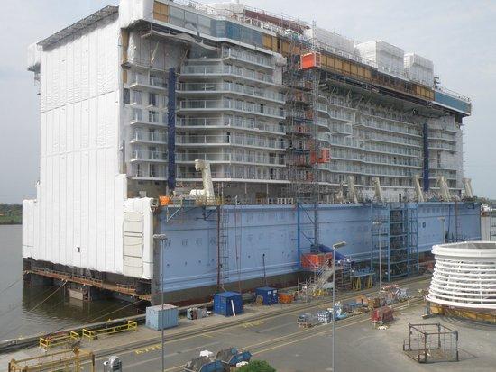 Meyer Werft: chantier