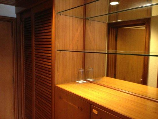 Trident, Cochin : closet