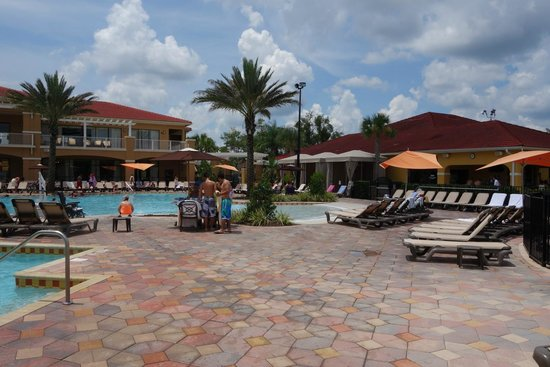 Fantasy World Club Villas: pool side