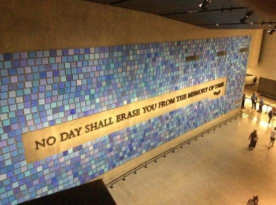 Memorial del 11S: Inside museum.