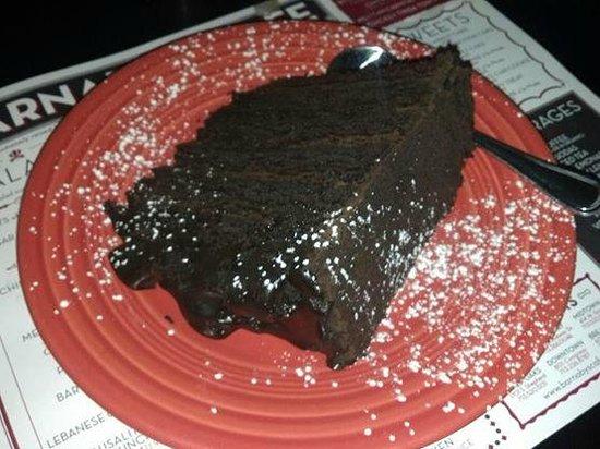 Barnaby's Cafe: Chocolate Cake