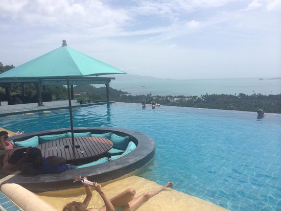 Mantra Samui Resort : Pool with great views