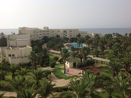 Hotel Manar : The view from our balcony