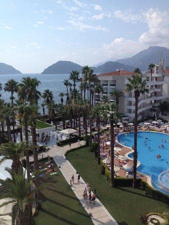 Ideal Prime Beach : Наш вид с балкона