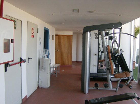 Silken Atlantida Santa Cruz: Area Fitness