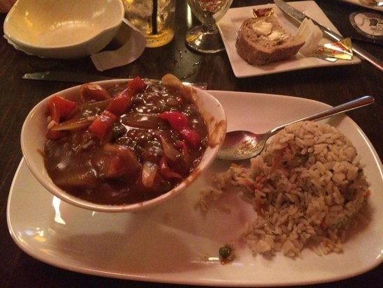 May Kelly's Cottage Restaurant and Pub: Curry chicken
