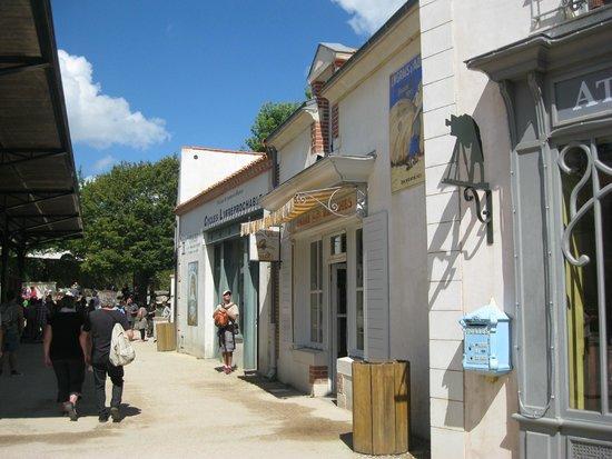 Le Puy du Fou : Le bourg 1900
