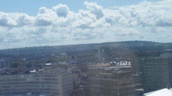 Premier Inn Bristol City Centre (Haymarket) Hotel: View from floor 16