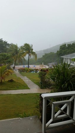 Dickenson Bay Cottages: View from MY villa :-)