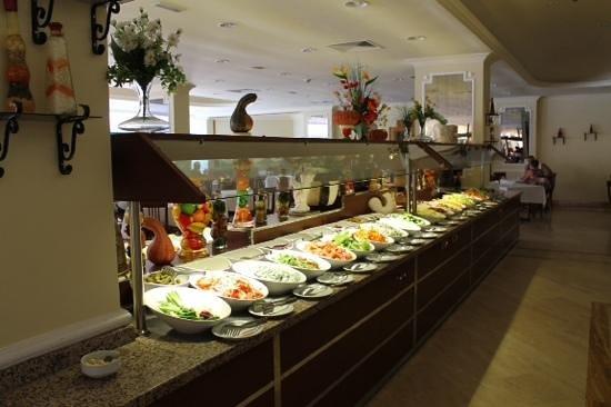Miramare Queen Hotel: buffet crudité